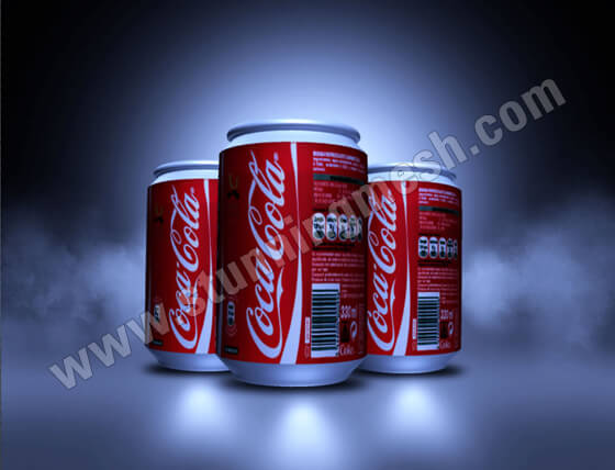 3D Soda Can in Photoshop