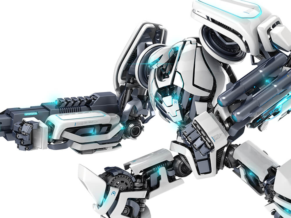 125 Awesome 3D Robots and Characters To Get Inspiration