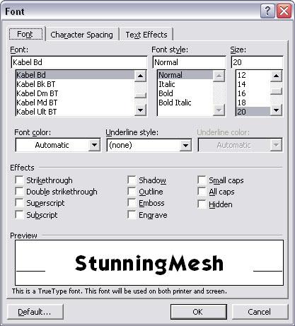menu-format-font