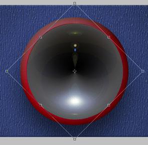 Analog Clock in Photoshop - stunning-mesh-tut15-16