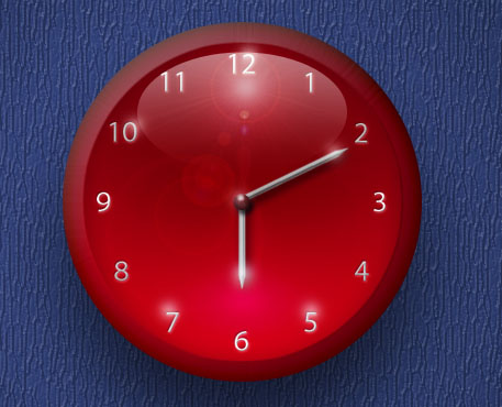 How to make Analog Clock in Photoshop
