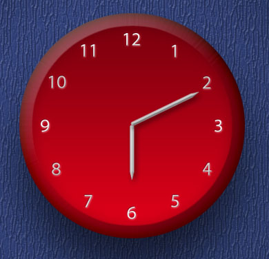 Analog Clock in Photoshop - stunning-mesh-tut15-9