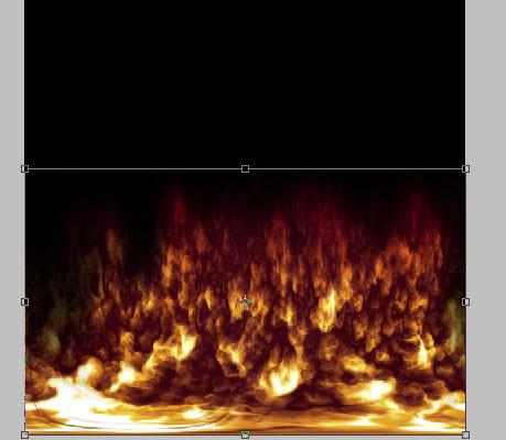 Fireball in Photoshop