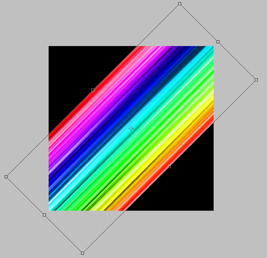 Rainbow Colors Stripes in Adobe Photoshop