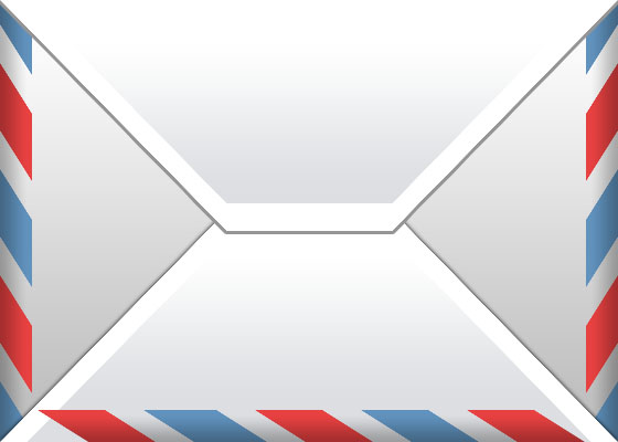 Envelope Icon in Photoshop