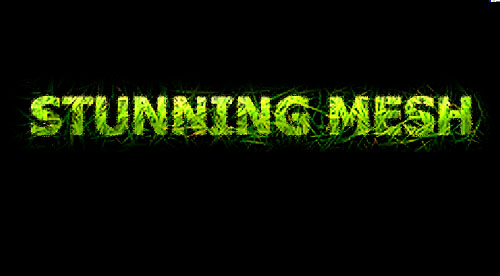 Grassy Natural Text Effect