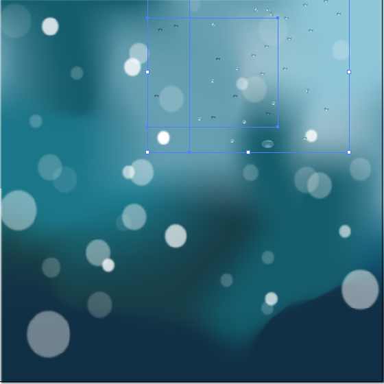 Water Drops in Illustrator