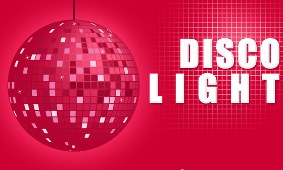 Disco Lights in Illustrator