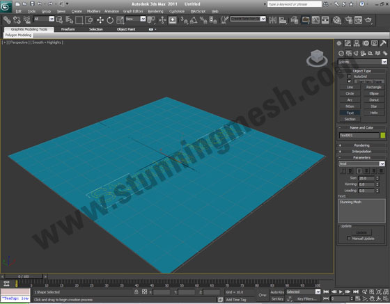 3D Studio Max Tutorial