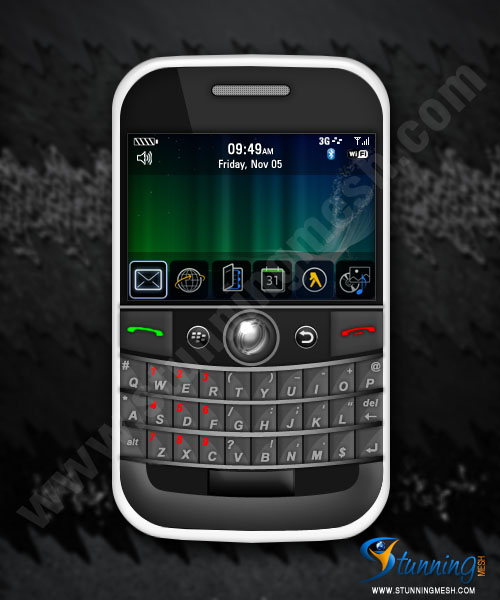 BlackBerry in Photoshop Tutorial