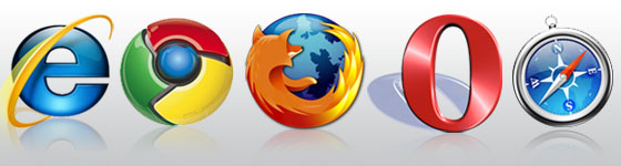 Bad Design: Designing for Various Browsers