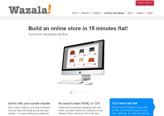 Sell Online with Wazala eCommerce