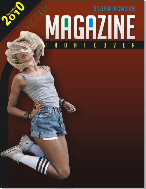 Magazine Front Cover in CorelDraw