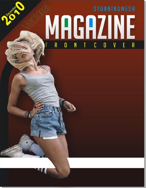 Magazine Front Cover in CorelDraw