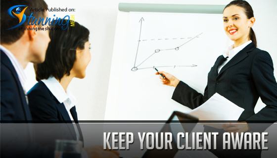 Keep your Client Aware