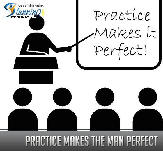 Tips for Designers - Practice Makes the Man Perfect