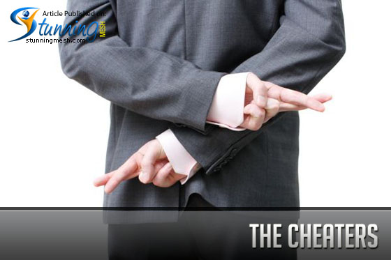 The Cheaters Bloggers – Dishonesty is the Best Policy