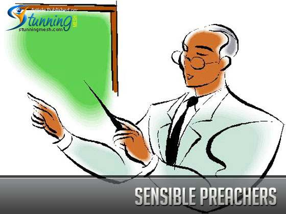 Sensible Preachers – I know What I'm Talking About