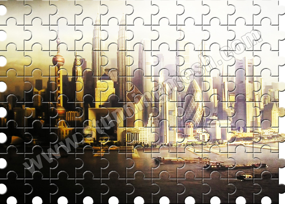 Puzzleup your Picture in Photoshop Tutorial