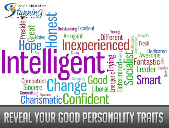 Reveal your Good Personality Traits