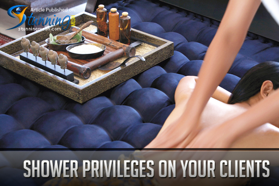 Shower Privileges on your Clients