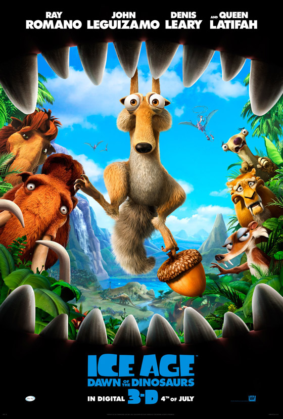 Animated Cartoon And 3D Movies Poster