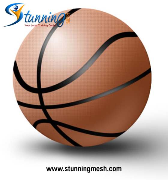 Stunningmesh - Basketball in Photoshop