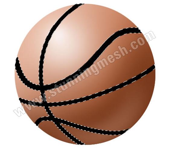 Stunningmesh - Basketball in Photoshop