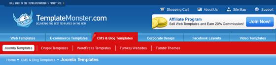 50 Best Sites to Download Joomla Templates