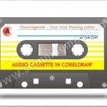 Vectorial Audio Cassette in Coreldraw