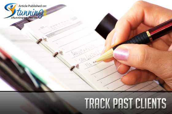Tips for Designers - Track Past Clients
