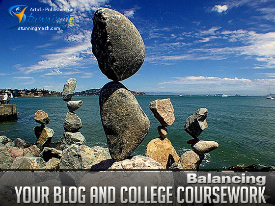 Balancing Your Blog and College Coursework