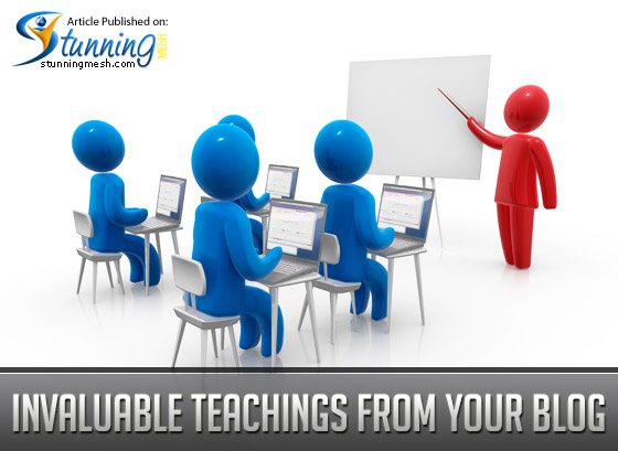 Invaluable Teachings from Your Blog