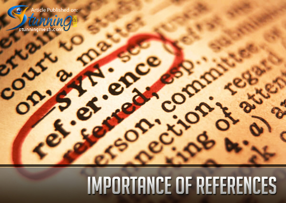 Importance of References