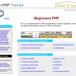 Sites to Get PHP Tutorials and Scripts