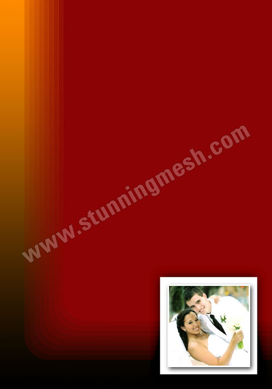 Stunningmesh - Wedding Card in Photoshop