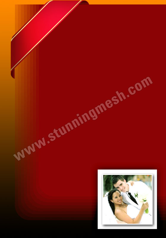 Basic Photoshop tools to design Wedding Card