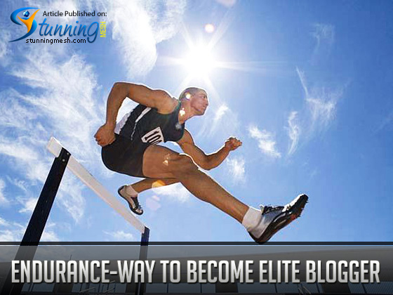 Endurance – The Way to Become an Elite Blogger and get Traffic