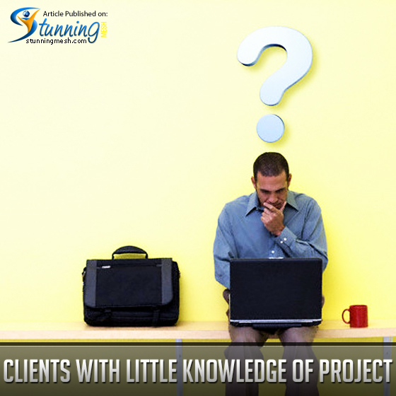 Bad Clients with Little Knowledge of the Project