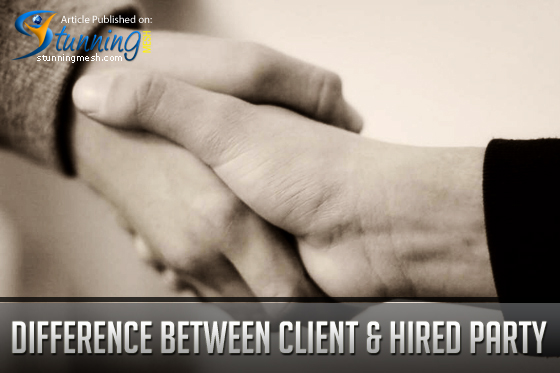 Differences between the Client and the Hired Party