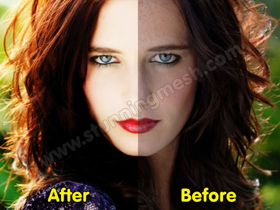 How to convert Normal Face to Photogenic Face