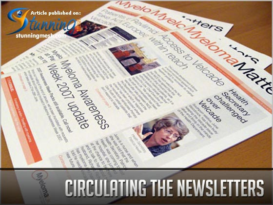 Circulating the Newsletters