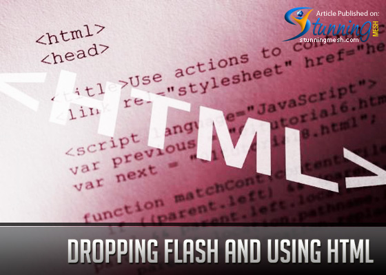 Dropping Flash and Using HTML