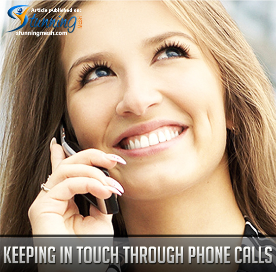 Keeping in Touch through Phone Calls