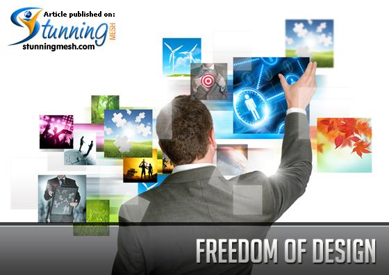 Freedom of Desig in Online Printing