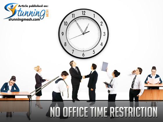 No Office time restriction