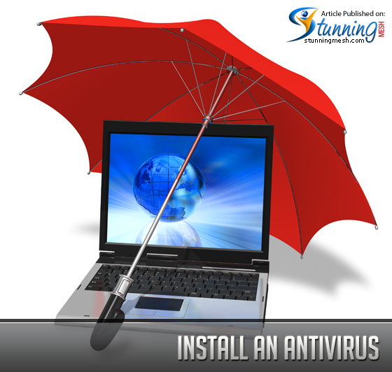 Install an Antivirus to Remove a Virus