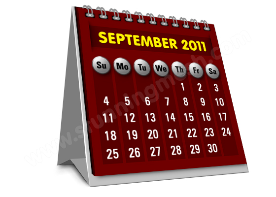 Photoshop Tools to Design Table Calendar Icon