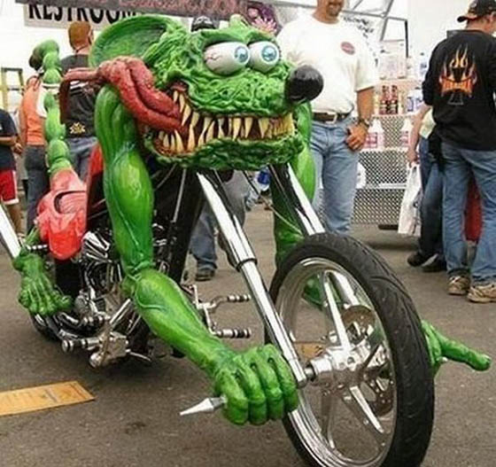 Amazing Motorbikes in the World