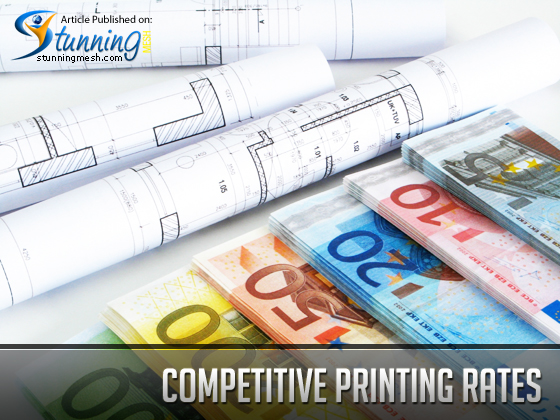 Competitive Printing Rates